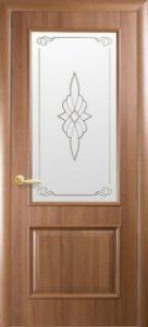 Вилла со стеклом сатин и рисунком