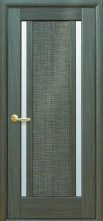 Луиза со стеклом сатин цвет grey