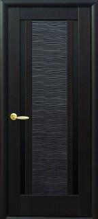 Луиза с черным стеклом цвет венге new