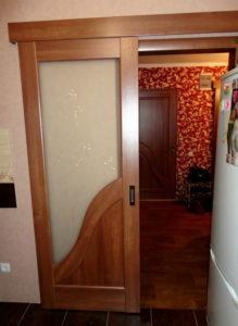 Двери раздвижные Амата с рисунком