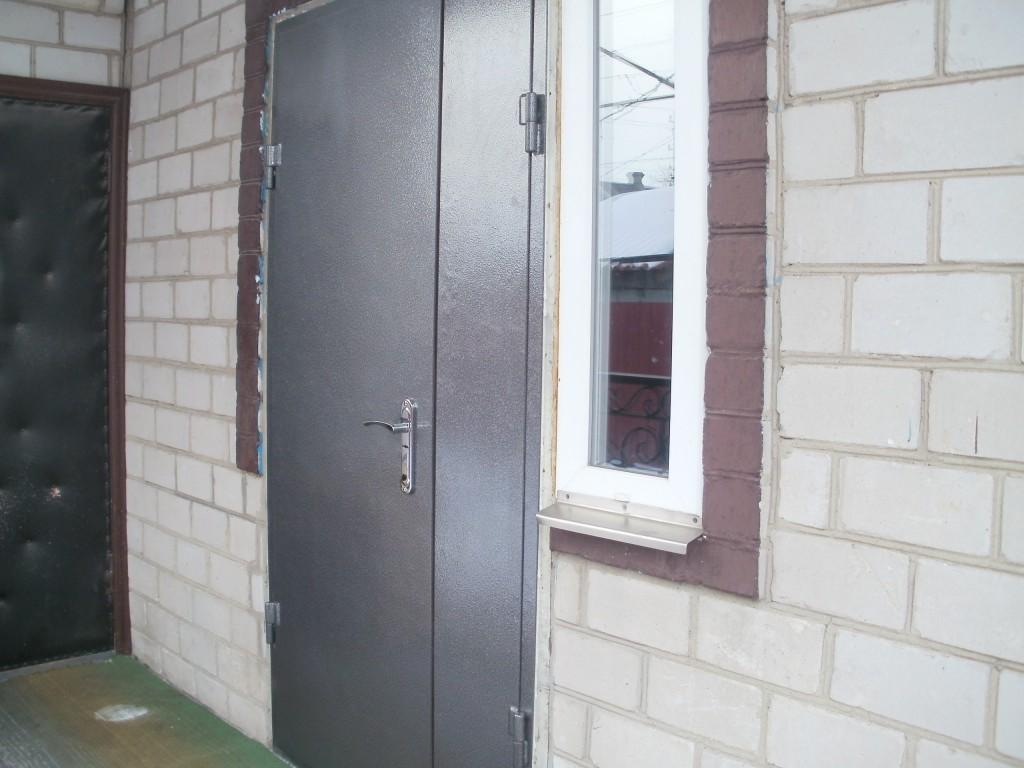 железные двери из 2мм стали