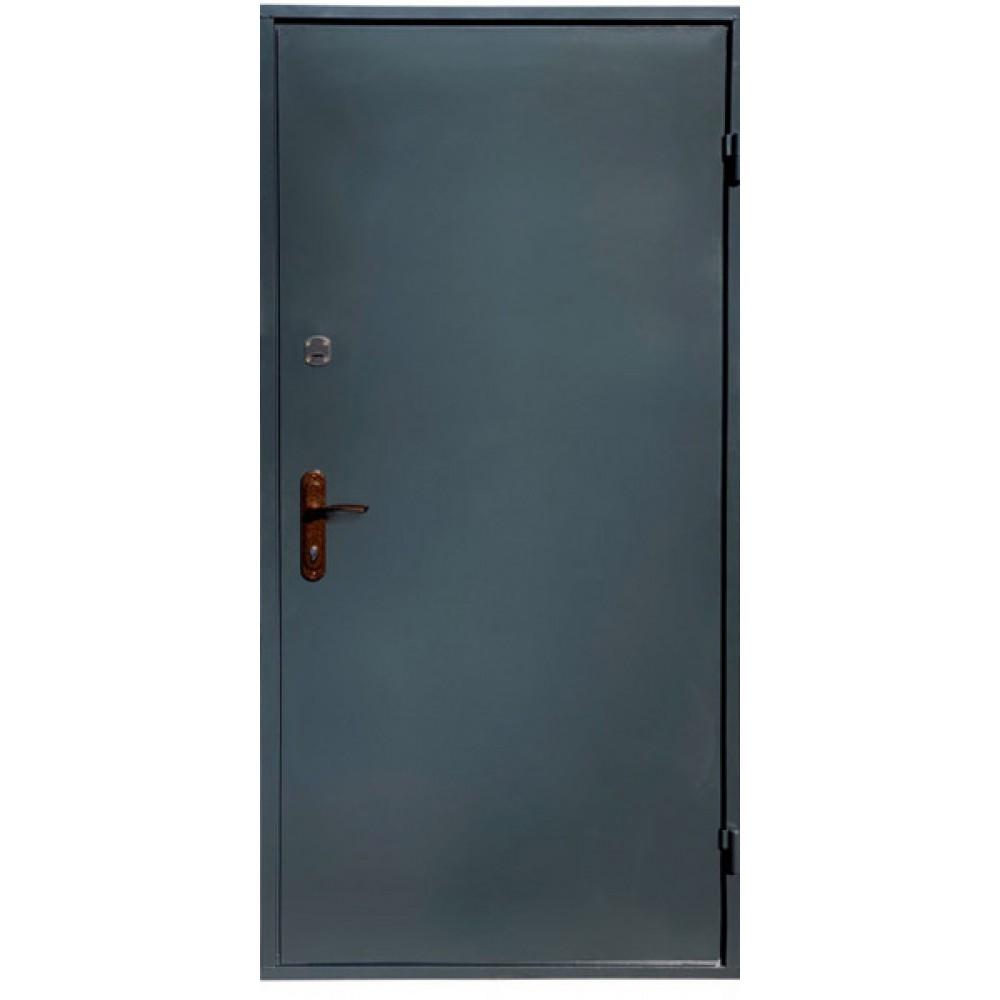 Входные двери железные лист металла 2 мм. серые 2 замка, наличник в Подарок!
