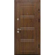 Входные двери Министерство Дверей ПК-29  Vinorit Дуб темный 860х2050