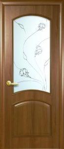 Антре со стеклом сатин и рисунком