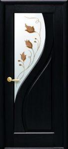 Прима со стеклом сатин и рисунком